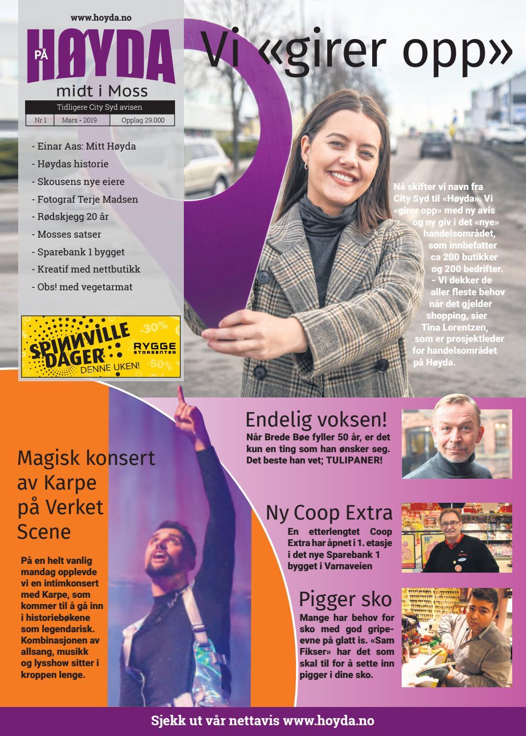 4e3f1262 Nr 1 Høyda avisen, Moss by PS Press Reklame - issuu