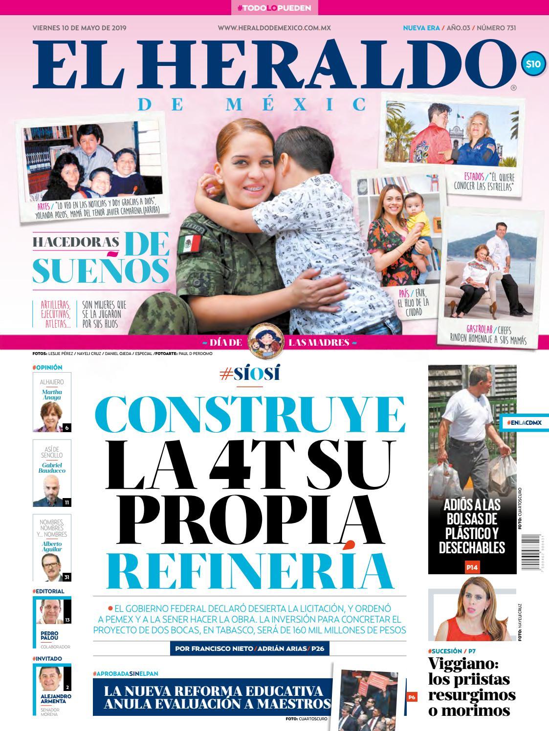 928ebc4ac8 Viernes 10 de mayo de 2019 by El Heraldo de México - issuu