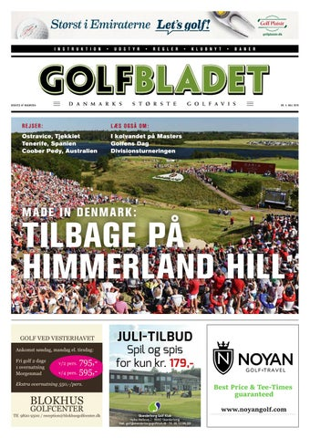 a81761490cd GOLFBLADET maj 2019 by Morten Buckhøj - issuu