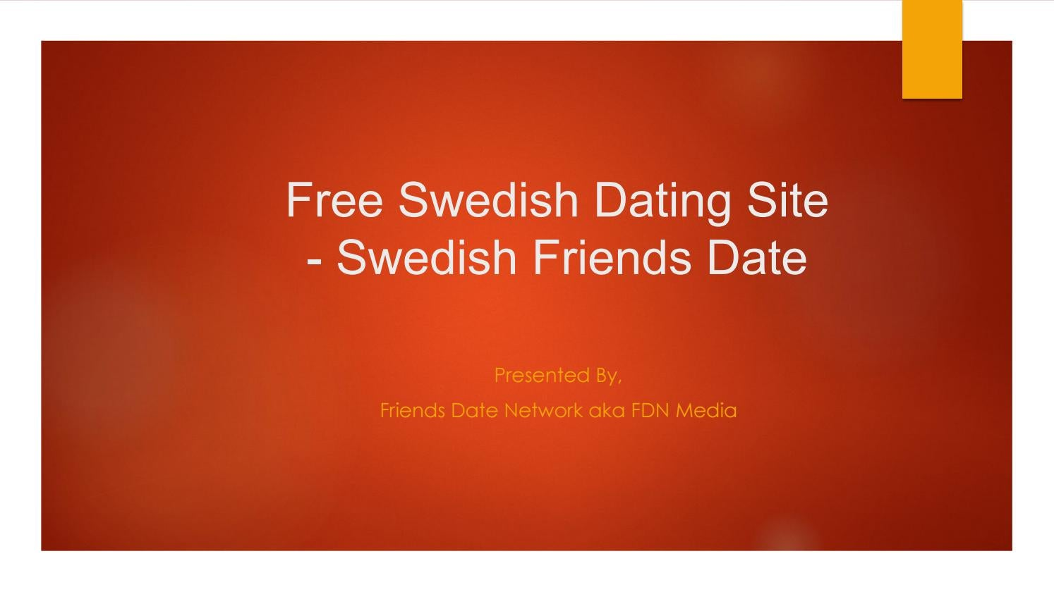 Swedish dating website