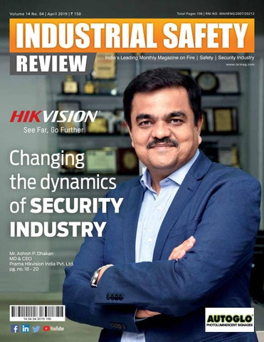Industrial Safety Review - APRIL 2019 by Divya Media Publications