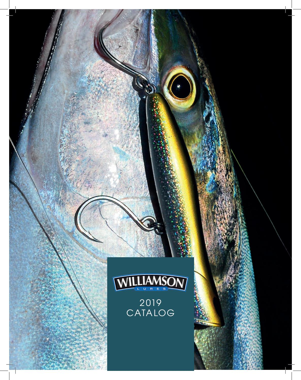 "Williamson Lures Surface Pro 180 Ayu 7/"" SFP180-AYU Topwater Lure"