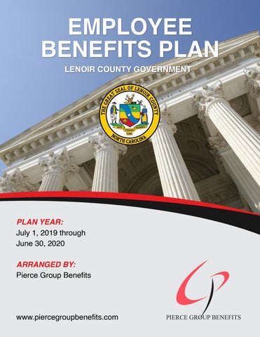 Lenoir County Calendar And Court Dates For January And February 2020 City of Roxboro 2019 Booklet   2019 2020 Plan Year (5.13.19