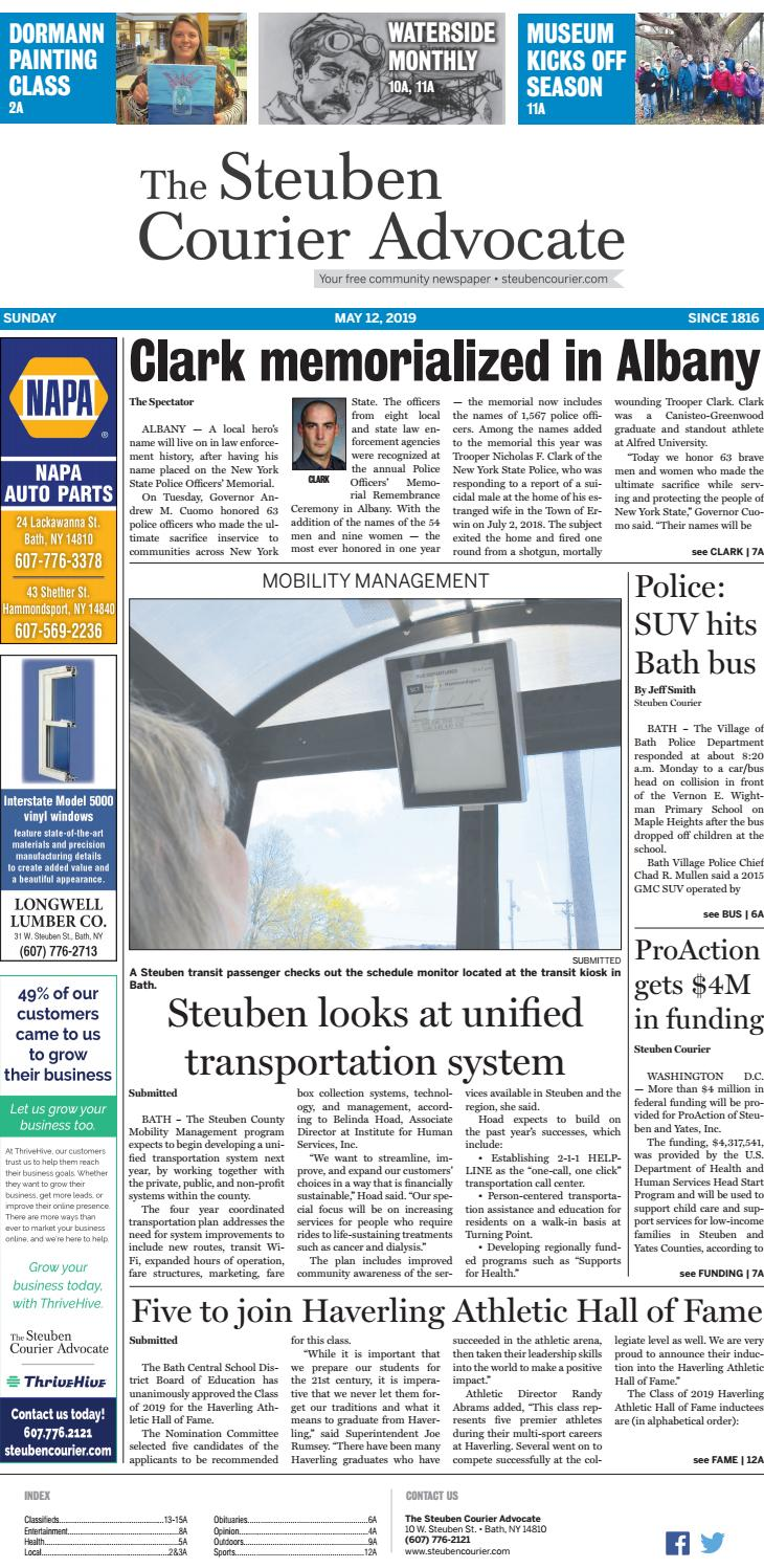Courier051219 by The Steuben Courier Advocate - issuu
