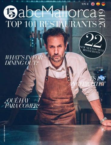 125th Abcmallorca 101 Top Restaurants 2019 By Abcmallorca