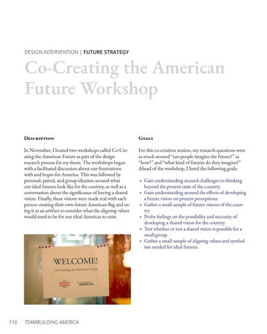 Page 116 of Co-Creating the American Future Workshop