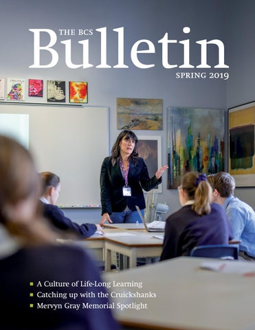 The BCS Bulletin Spring 2019 by Bishop's College School - issuu