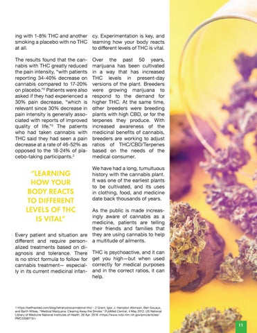 Page 13 of THC - The Healing Compound