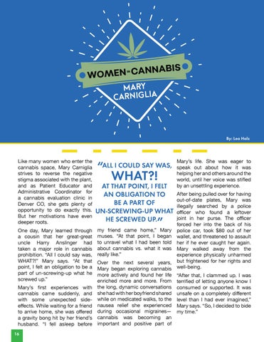 Page 18 of Women in Cannabis | Mary Carniglia