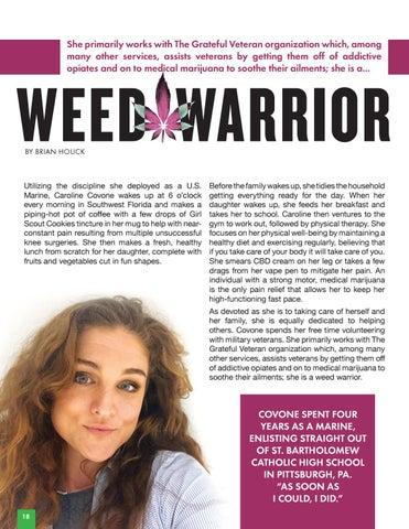 Page 20 of Caroline Covone | Weed Warrior