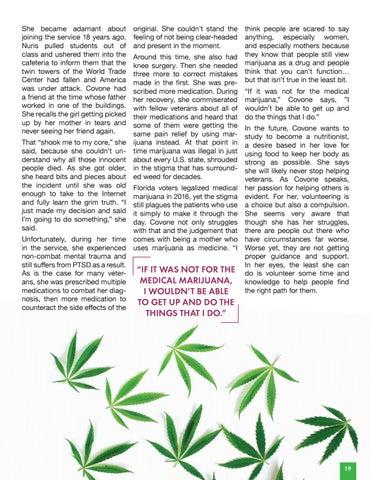 Page 21 of Caroline Covone | Weed Warrior