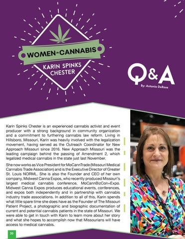 Page 22 of Women in Cannabis | Karin Spinks Chester Q&A