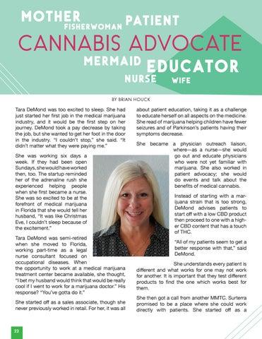Page 24 of Cannabis Advocate | Tara DeMond