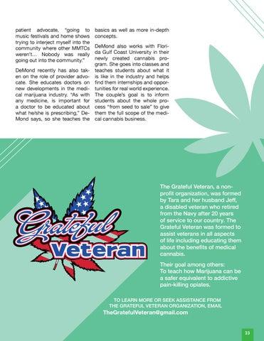 Page 25 of Cannabis Advocate | Tara DeMond