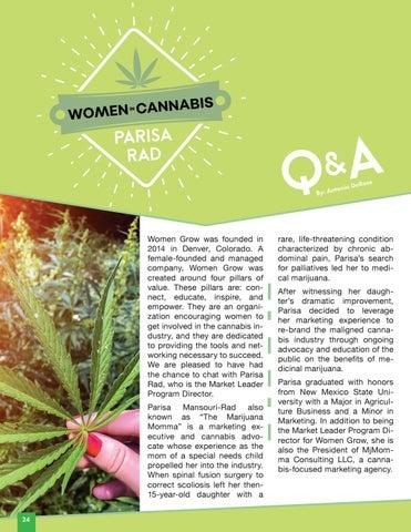 Page 26 of Women in Cannabis | Parisa Rad Q&A