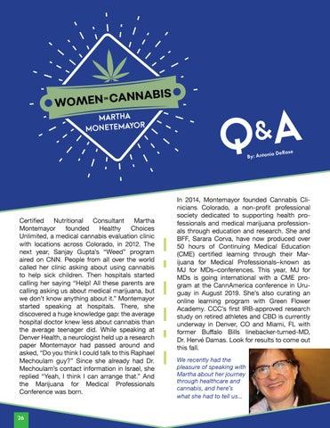 Page 28 of Women in Cannabis | Martha Monetemayor Q&A