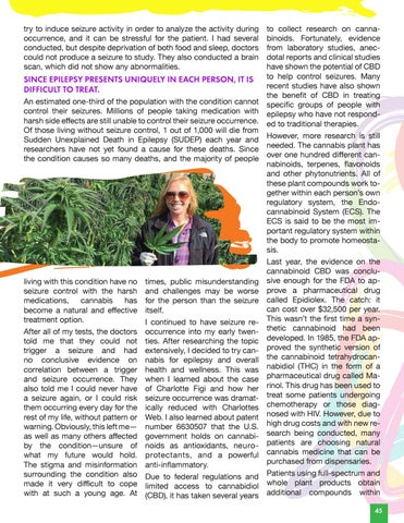 Page 47 of Cannabis & Epilepsy