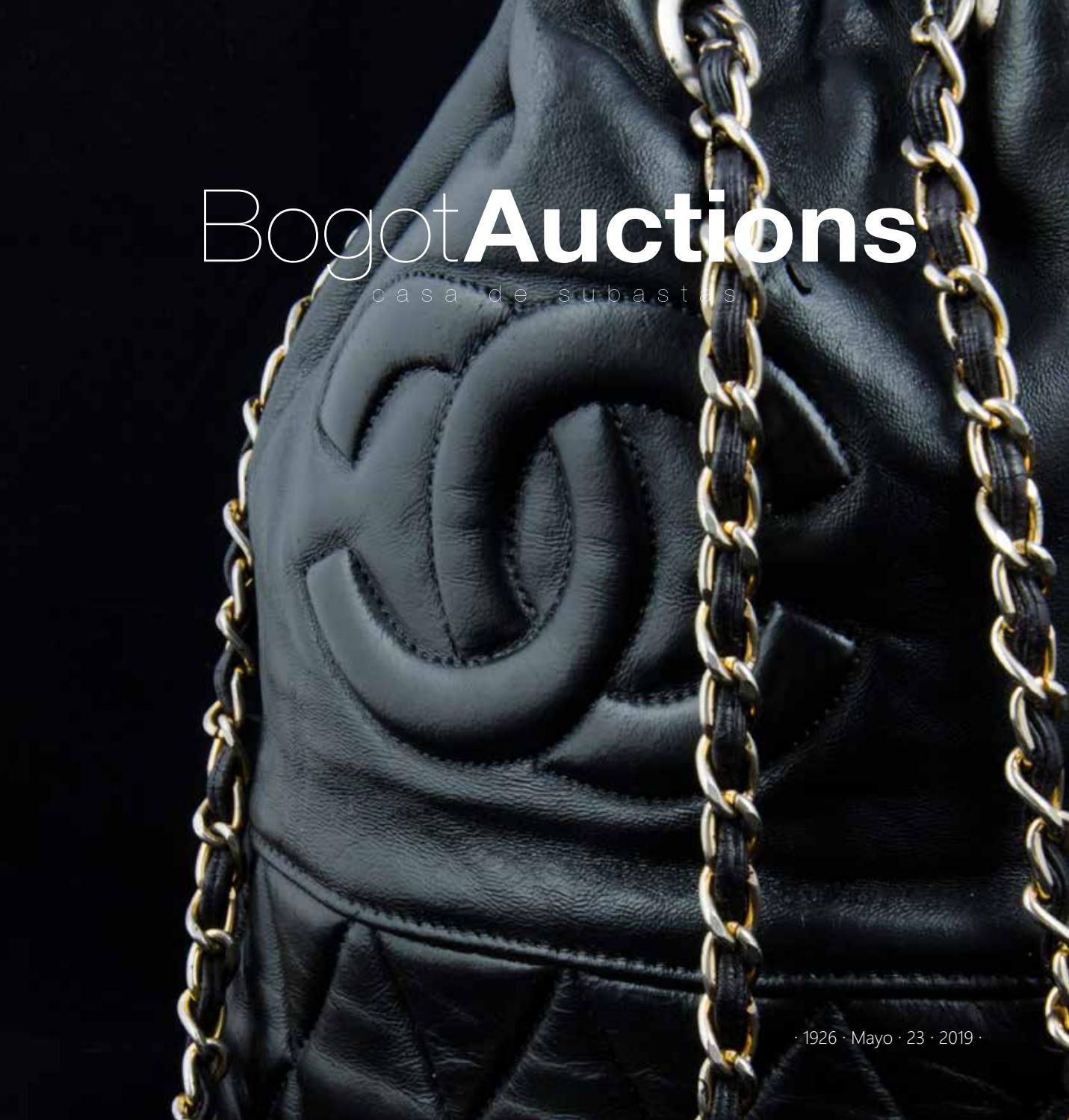 8d5ec86492be Bogota Auctions  Subasta de Moda y Vintage. catálogo 1924