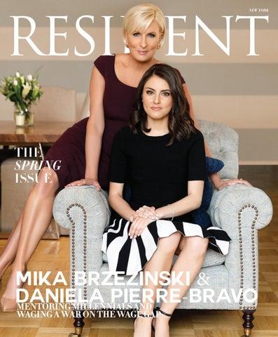 206bb98360a Resident Magazine NY MAY 2019 MIKA BRZEZINSKI   DANIELA PIERRE-BRAVO ...