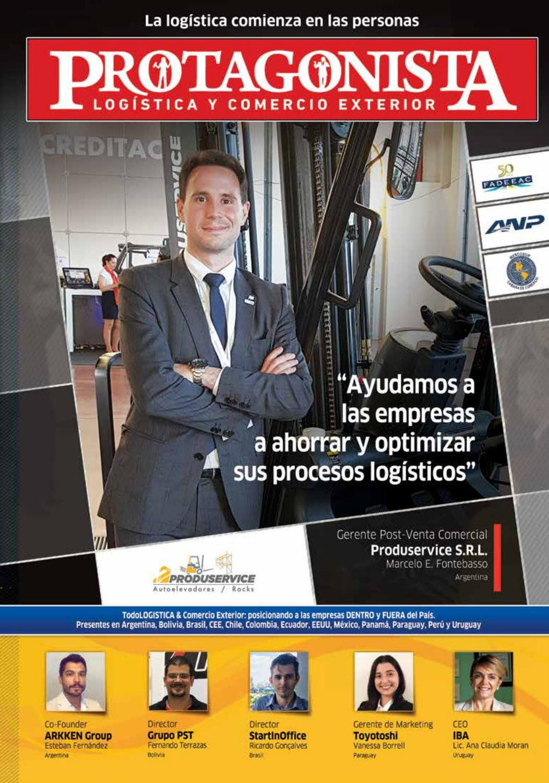 522d4b2af Revista PROTAGONISTA 38 by TODOLOGISTICA - issuu