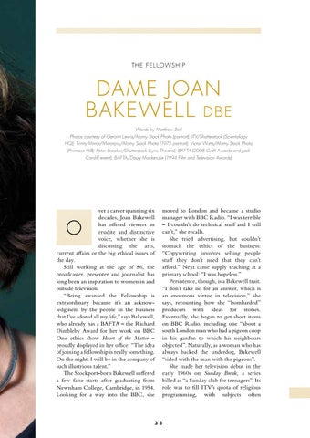 Page 35 of The Fellowship – Dame Joan Bakewell