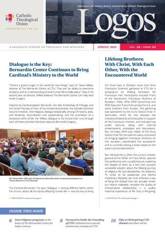 CTU Logos Newsletter Spring 2019 by CTUDev - issuu