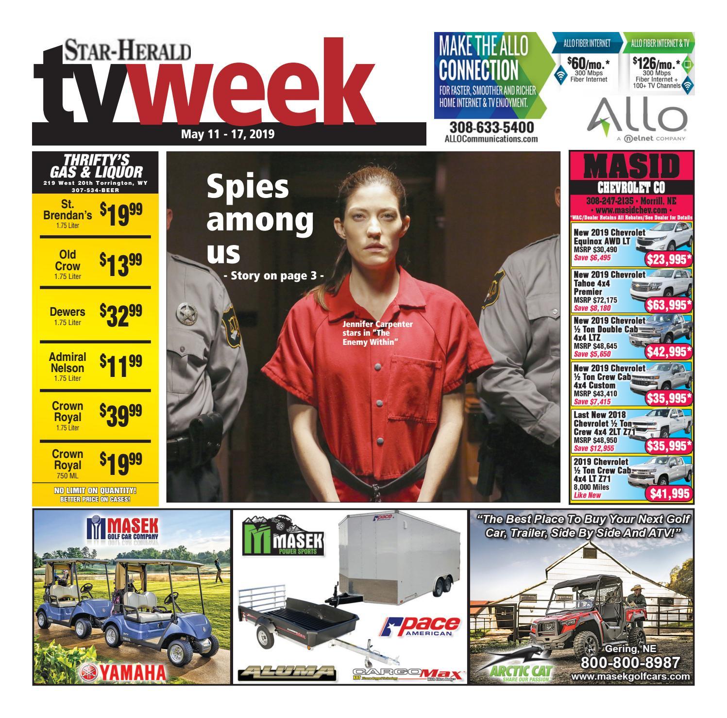 TV Week May 11, 2019 by Star-Herald - issuu