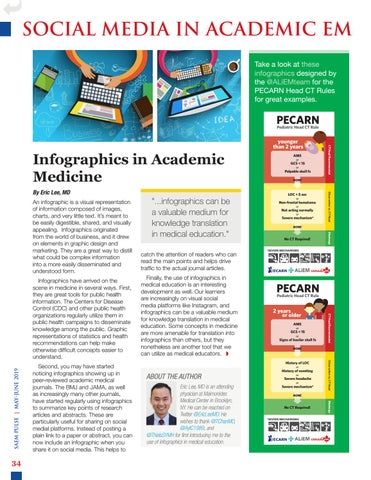 SAEM PULSE May–June 2019 by Society for Academic Emergency