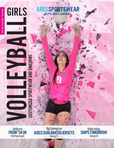 7b37d7ae3 2019 Ares Sportswear Girls Volleyball Catalog by Ares Sportswear - issuu