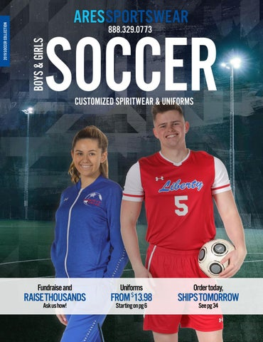 a98f28ee781 2019 Ares Sportswear Soccer Catalog by Ares Sportswear - issuu