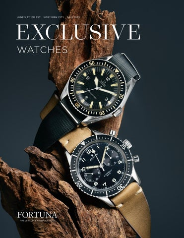ded579015 Fortuna Exclusive Watches by Fortuna Auction - issuu