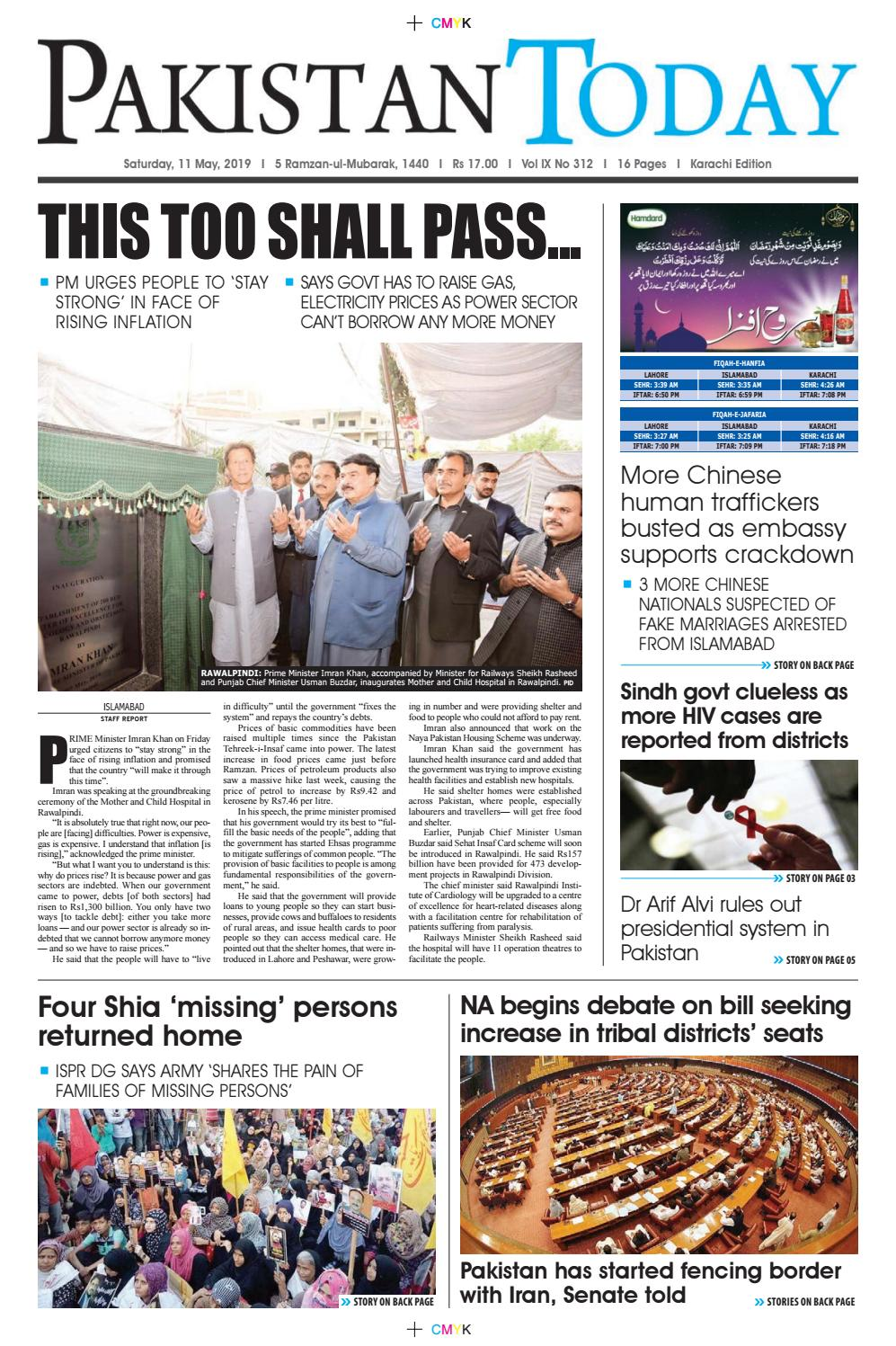 E-Paper PDF 11 May (KHI) by Pakistan Today - issuu