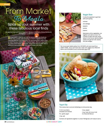 Page 20 of Summer Farmers' Market recipe