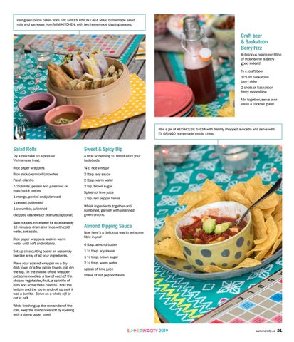 Page 21 of Summer Farmers' Market recipe