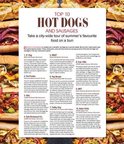 Page 24 of Top 10 Hot Dogs