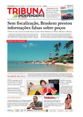 f2a3f9233 FIM DE SEMANA n MACEIÓ - ALAGOAS - 11 E 12 DE MAIO DE 2019 - Nº 3.390 -