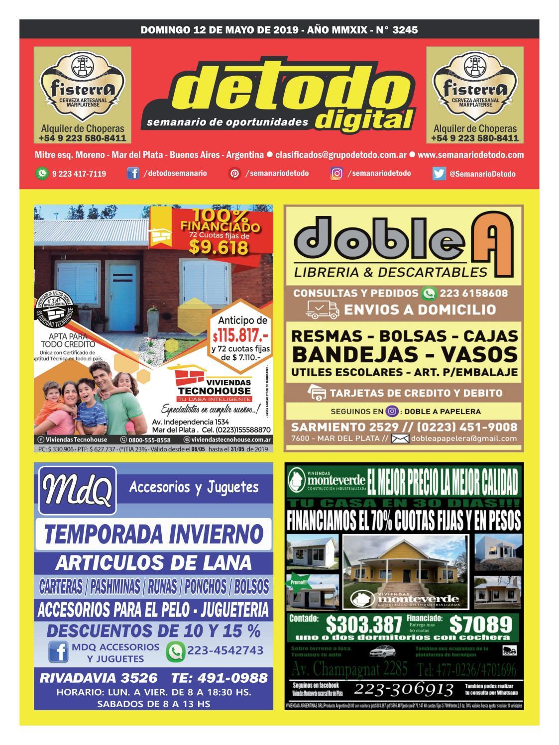 dea11085d Semanario Detodo - Edición N° 3245 - 12/05/2019 by Semanario Detodo - issuu
