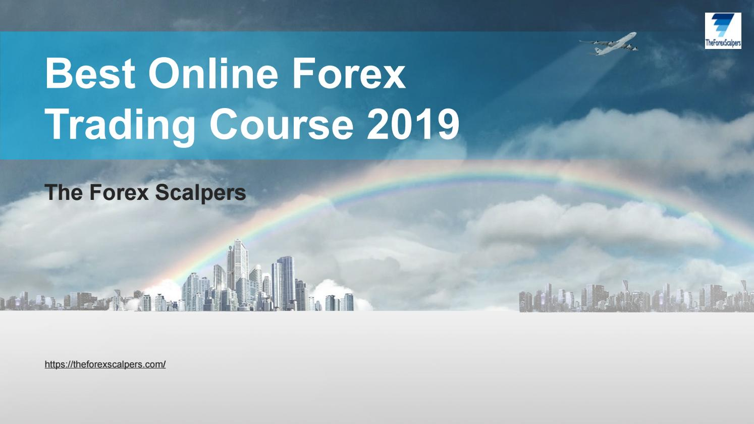 Best Online Forex Trading Course 2019
