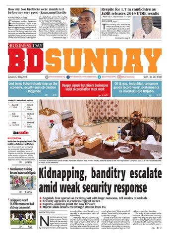 BusinessDay 12 May 2019 by BusinessDay - issuu