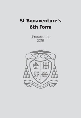 6th Form Prospectus 2019 by St Bonaventure's - issuu