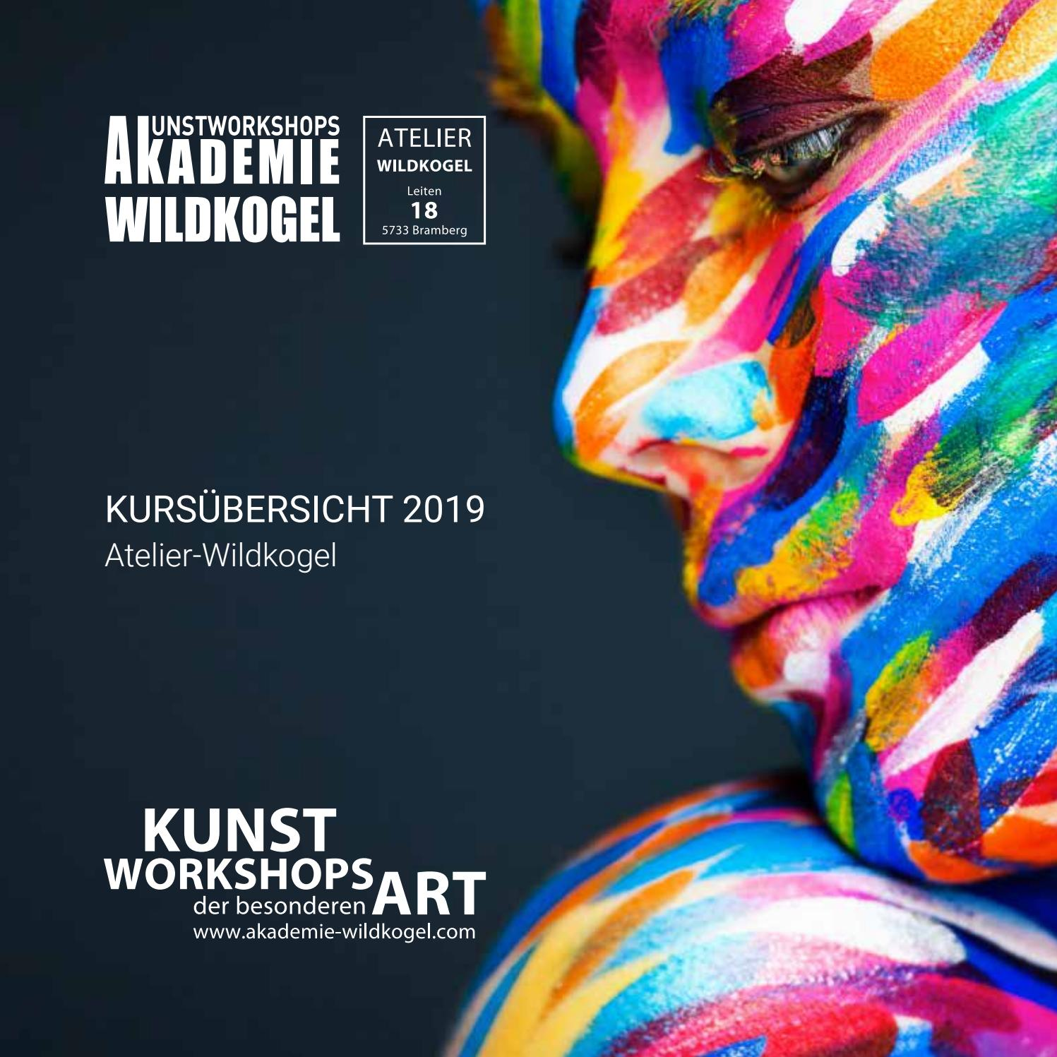 Atelier Wildkogelhaus Katalog 2019 By Akademie Wildkogel Gmbh Issuu