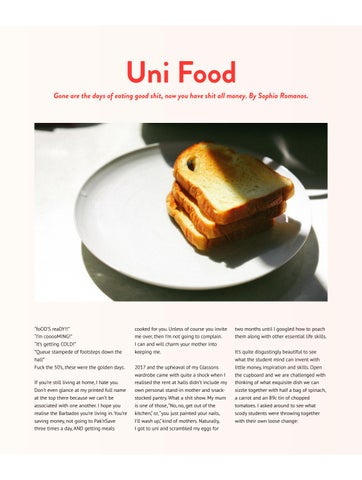 Page 12 of Uni Food Page