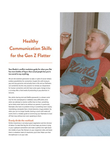 Page 22 of Gen Z Flat Communication Page