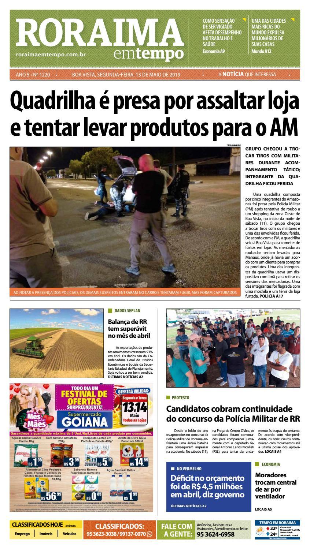 29745d9fb9d9 Jornal Roraima em tempo – edição 1220 by RoraimaEmTempo - issuu