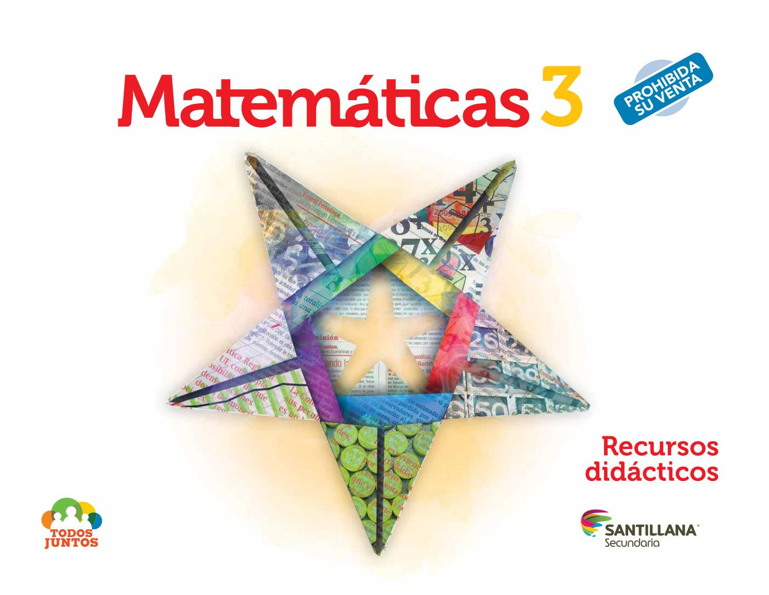 359fd7706c MATEMATICAS SANTILLANA 3 - LIBRO DEL MAESTRO by Hector Videos - issuu