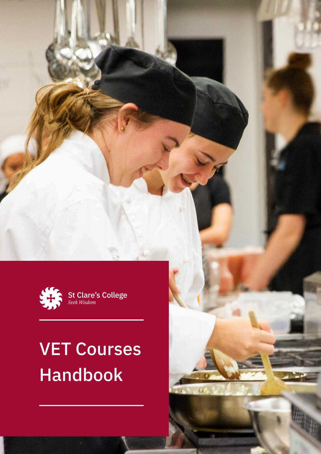 Download VET Courses Handbook