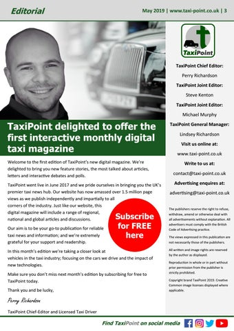 Page 3 of TaxiPoint launches industry's first interactive taxi magazine