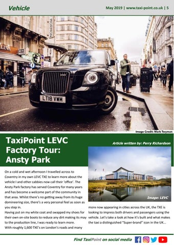 Page 5 of TaxiPoint LEVC Factory Tour