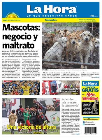bb8b8ef5b0e3 TUNGURAHUA 13 DE MAYO DEL 2019 by Diario La Hora Ecuador - issuu