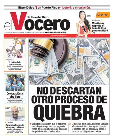 Edición del 13 de mayo de 2019 by El Vocero de Puerto Rico